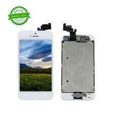iPhone 5 LCD Display Touch Screen Bildschirm Scheibe Front Glas Komplettset Weiß