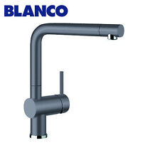 Blanco LINUSSG Silgranit Pull out Mixer Tap – Rock Grey