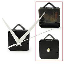DIY Quartz Clock Movement Mechanism White Long Spindle Parts Repair Tool Kit