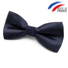 Made in France Nœud Papillon bleu marine pour Enfant - Children navy blue bowtie