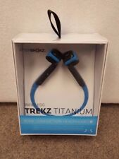 AfterShokz Trekz Titanium Open Ear Bone Conduction Bluetooth Wireless Headphones