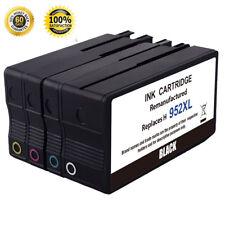 4PK For HP 952XL BCMY Ink Cartridge Officejet Pro 7740 8210 8710 8720 8725 8740
