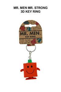Mr. Men Mr. Strong 3D Key Ring