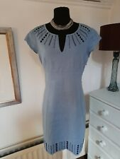 Boden Fully Lined Smart Linen Dress - UK 12 R -