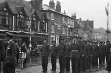 PHOTO  ST GEORGES DAY PARADE IN HART STREET HENLEY 1950 VIEW 2