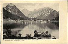 Pertisau Austria Tirol AK ~1900 Achensee mit Alpen Foto Robert Harth ungelaufen