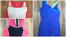 Lot of 3 Sz M TAIL Active Athletic Sports Bras Tops EUC Fitness Wear Activewear