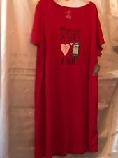 SECRET TREASURES WOMEN'S COMFORTABLE COTTON/POLY NIGHT GOWN 1 XL - 14/18