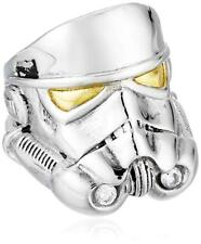 Han Cholo Star Wars Adult Mens Sz 9 Stormtrooper Ring Silver Stainless Steel New