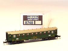 8748 Marklin Z-scale  Swiss Early Express Passenger Car SBB