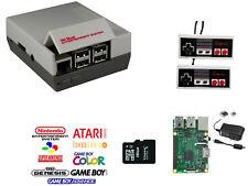 Raspberry Pi 3 Console with 2 NES USB Controllers | 16GB | Retro Pie Retro Pi