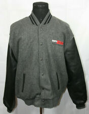 ESPN Zone Atlanta Georgia Leather Sleeve Letterman Jacket 2XL