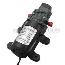 130PSI DC 24V 80W Mini Micro Diaphragm High Pressure Water Pump Automatic Switch