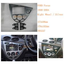2 Din Car Radio fascia Facia Panel Adapte for FORD Focus 1998-2004 Right Wheel