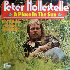 "7"" 1975 CV STEVIE WONDER RARE ! PETER HOLLESTELLE : A Place In The Sun /MINT-?"