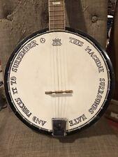 Pete Seeger Tribute Banjo