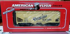 American Flyer 6-49608 S Scale Domino Sugar Covered Hopper NIB