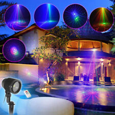 Outdoor Laser Full Colors RGB Patterns Holiday Party Decoration Lights Xmas Show