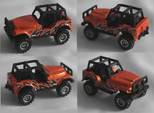 Matchbox - Jeep 4x4 orangemet.