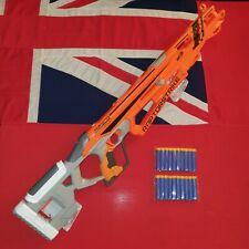 Nerf Accustrike Raptorstrike Sniper Rifle Blaster Gun 20 Darts JOB LOT BUNDLE