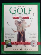 Simply Golf: Back to Basics by Steve Bann (Mixed media product, 2004)