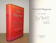 Stav Sherez - The Devil's Playground - Signed - 1st/1st