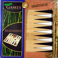 Backgammon Bambu Green Games for a Green Planet