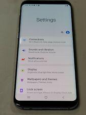 New listing Samsung Galaxy S8+ Sm-G955U, 64Gb, Blue, Locked At&T, Fair Condition : Aa246