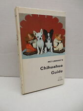 Pet Library's Chihuahua Guide Book Dog Grooming Feeding Breeding Health Care