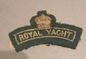 Royal Marines - Royal Yacht Patch 1954 -1997 used