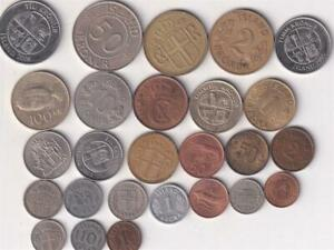 26 DIFFERENT ICELAND COINS 1940-2008   R7