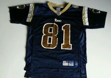 NFL Football Jersey St. Louis Rams Torry Holt #81 Reebok Youth  Size M  10-12