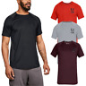 Under Armour Mens MK1 Logo Graphic HeatGear UA Short Sleeve T-Shirt