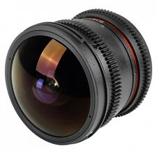 Samyang 8mm T3.8 UMC Fish-eye VDSLR CINE for MFT Olympus Panasonic