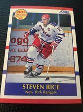 Steven Rice    Rangers 1990-1991 Score Prospect #390