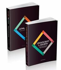 HTML & CSS and JAVASCRIPT & JQUERY 2 Book Set by Jon Duckett (2014, Paperback)