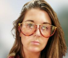 Vintage 1970s GIANFRANCO FERRE GFF 10 Eyeglasses GFF 9/S 405 Tortoise Gold