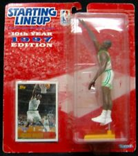 1997 Starting Lineup Antoine  Boston Celtics by Kenner New Sealed.