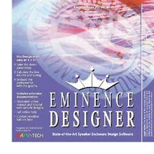 Eminence Speaker Cabinet Designer PC Software