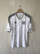 GERMANY 2012 2014 HOME FOOTBALL SHIRT SOCCER JERSEY ADIDAS x20656