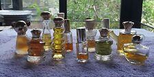 13 Misc. Avon Perfume Bottles Vintage