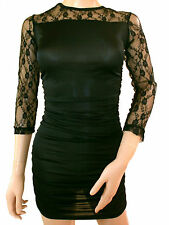 Lace Boat Neck Unbranded Stretch, Bodycon Dresses for Women