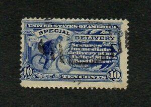 USA. 1911. SPECIAL DELIVERY. 10c BLUE PERF 12. G.U. SG No. E404 cat £11+