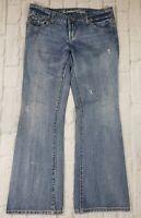 American Eagle Womens Jeans Favorite Boyfriend Distressed Size 4 SHORT