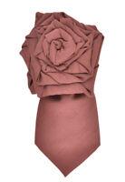 Emporio Armani Mens 632640 Classic Tie Stylish 3776 Purple Size OS