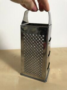 Large Hand Grater Stainless Steel Condition Used Still Sharp