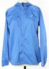 New With Tags Women's ASICS Blue Polyester Basic Jacket Size S $100