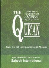 The Qur'an - Saheeh International - Arabic with English Meaning (Large Hardback)