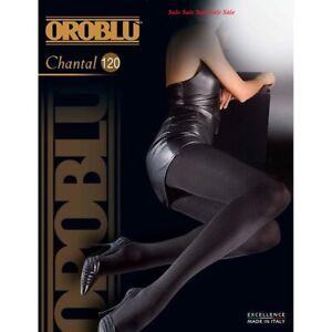 3 Pack Oroblu Chantal 120 den ultra opaque tights multifiber Progress 3Dimension