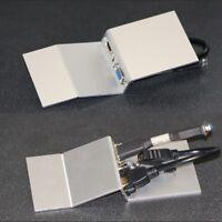 Angled AV Floor Plate, HDMI / VGA / Audio, for Tass Compact TFB3s Floor Box